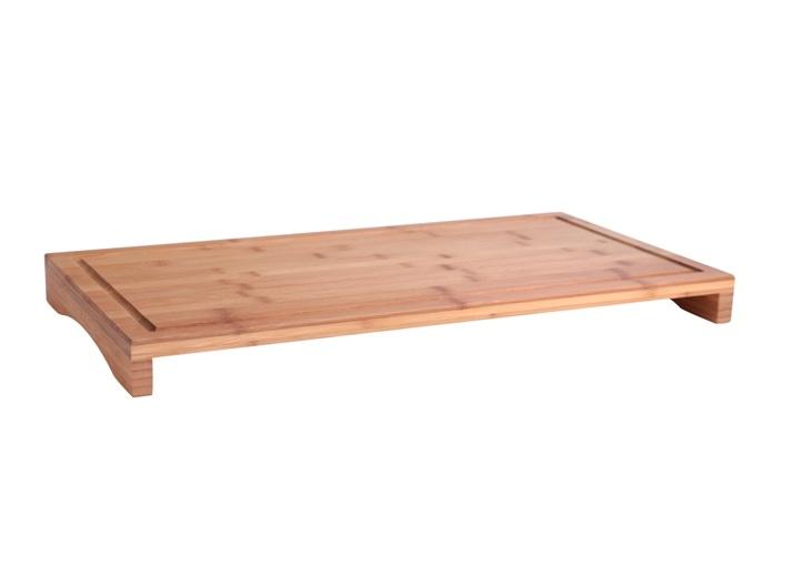Xxl bambusplatte schneidebrett abdeckplatte kuchenbrett for Bambus arbeitsplatte