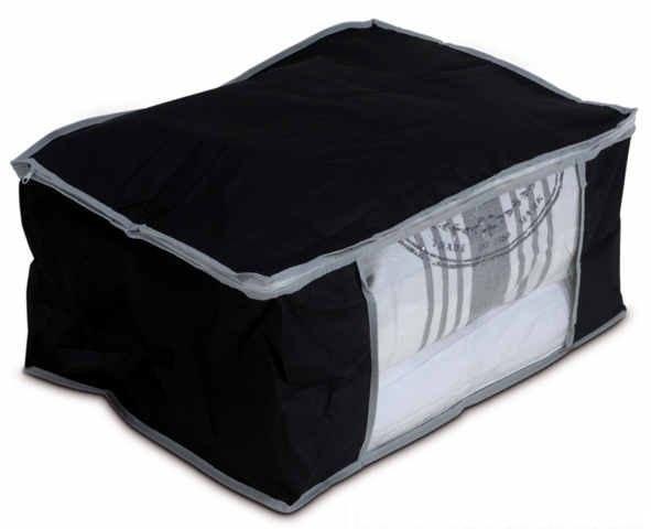 unterbettkommode aufbewahrung kleidersack schwarz tasche vers modelle ebay. Black Bedroom Furniture Sets. Home Design Ideas