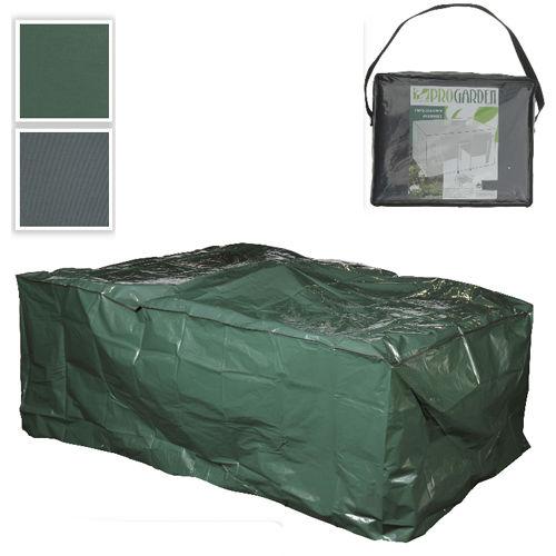 garden schutzh lle sitzgruppen gartenm bel abdeckung abdeckplane 230x135x80cm ebay. Black Bedroom Furniture Sets. Home Design Ideas